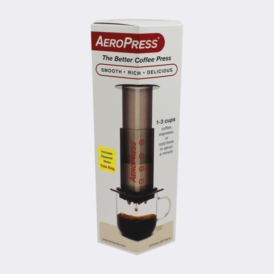 AeroPress + 350 db filter